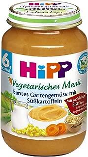 HiPP Buntes Gartengemüse mit Sü?kartoffeln, 6er Pack (6 x 190 g)