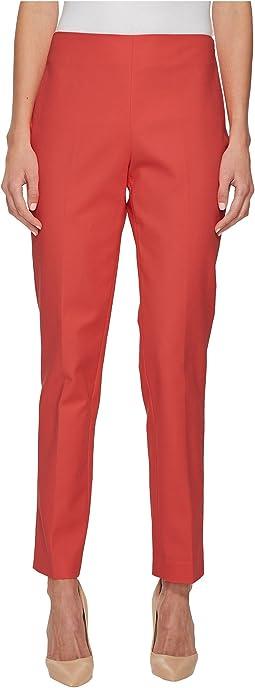 Doubleweave Side Zip Skinny Pants
