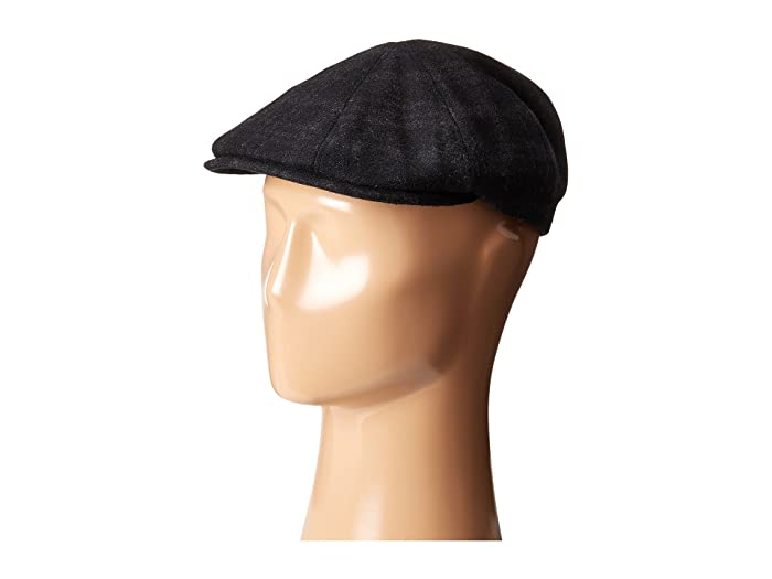Bailey of Hollywood  Cove (Grey Plaid) Caps