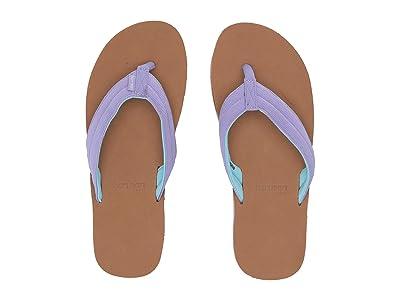 hari mari Kids Scouts (Toddler/Little Kid/Big Kid) (Violet/Tan) Girls Shoes