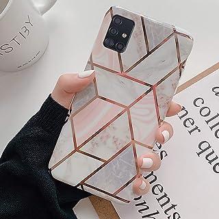 Uposao Custodia Compatibile con Samsung Galaxy A51 Colore Motivo Marmo Custodia Morbida Gel Silicone Protettivo Skin Custo...