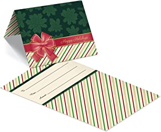 Gift Card Presenters/Holders (Red Bow) 100 Pack