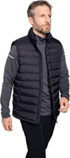 Mountain Warehouse Seasons Mens Padded Gilet - Water Resistant Gilet, Body Warmer, Lightweight Jacket, Easy to Store Coat ...