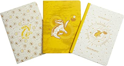 Harry Potter: Hufflepuff Constellation Sewn Notebook Collection: Set of 3