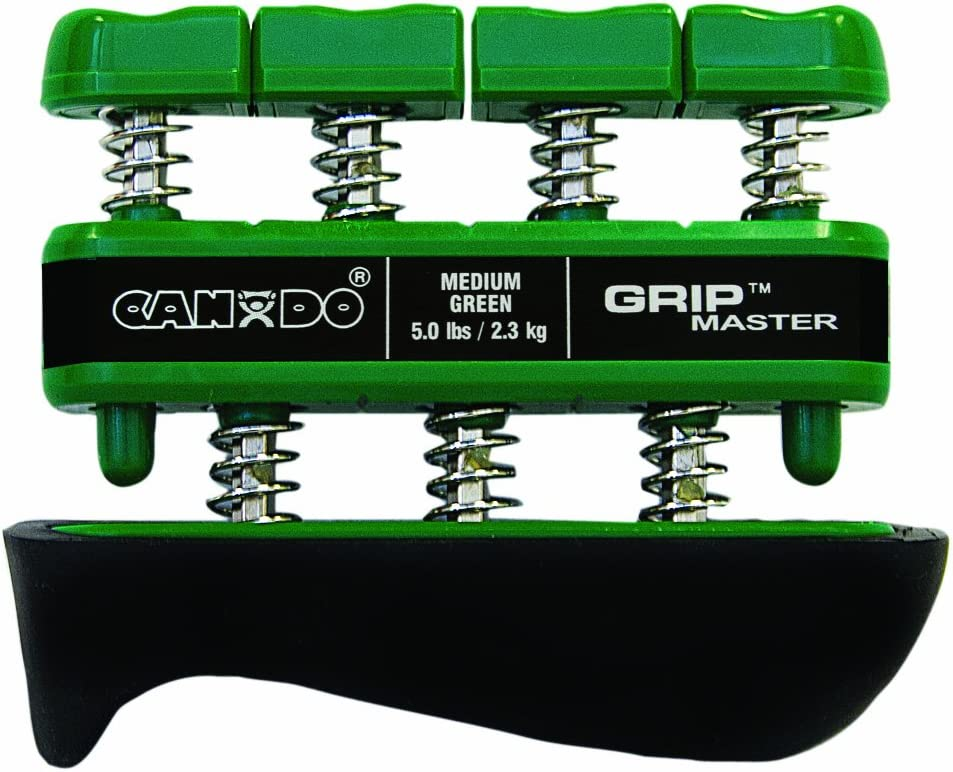 CanDo GripMaster Hand Our Over item handling ☆ shop OFFers the best service Exerciser Tension Green Medium