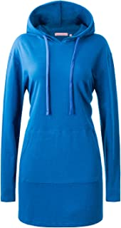 Regna X Basic Loose Fit Pocket Pullover Hoodie Long Tunic Sweatshirts (S~3X)