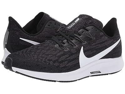 Nike Air Zoom Pegasus 36 (Black/White/Thunder Grey) Men