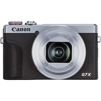 Canon PowerShot Vlogging Camera [G7X Mark III] 4K Video Streaming Camera, Vertical 4K Video Support with Wi-Fi, NFC and 3.0-inch Touch Tilt LCD, Silver