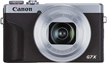 Canon PowerShot Vlogging Camera [G7X Mark III] 4K Video Streaming Camera, Vertical 4K Video Support with Wi-Fi, NFC and 3....