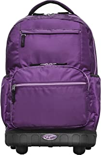 Olympia USA Melody 19 Inch Rolling Laptop Backpack