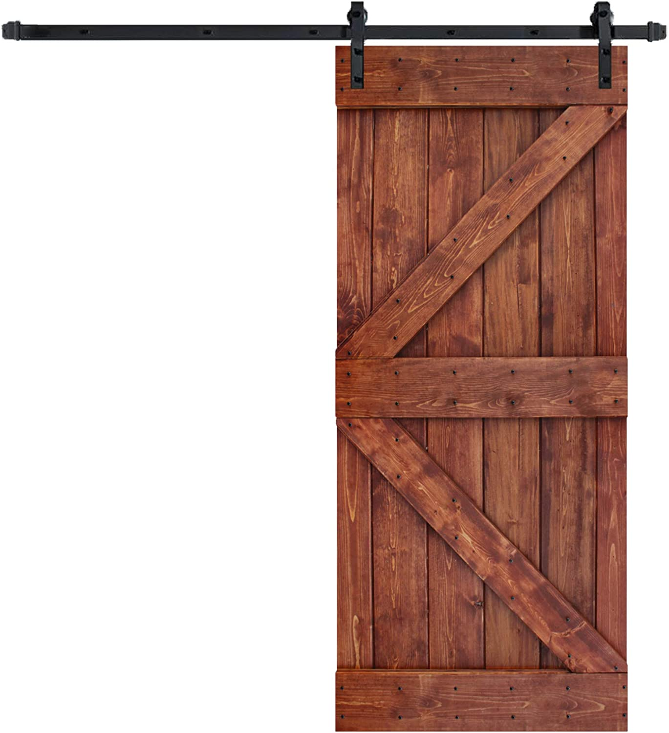 Department store 36in Outlet ☆ Free Shipping X 84in K Series DIY Knotty Sliding Pine Interior Barn Wood