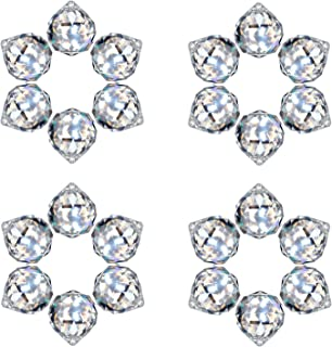 MerryNine Clear Crystal Ball Prism Suncatcher Rainbow Pendants Maker, Hanging Crystals Prisms for Windows, for Feng Shui, ...