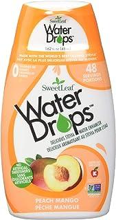 SweetLeaf WaterDrops, Peach Mango, 1.62 Fl Oz (Pack of 1)