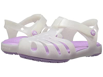 Crocs Kids Isabella Sandal PS (Toddler/Little Kid) (White) Girls Shoes