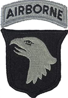 101st Airborne Division ACU Patch with Airborne Tab
