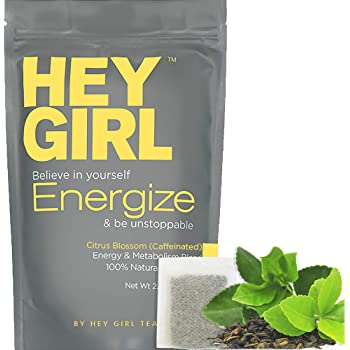 Metabolism Booster Tea For Women - Energize Tea will Increase Energy , Focus and Support Natural Weight Loss | Replace Your Coffee with Energize to Get Through your Day with Ease