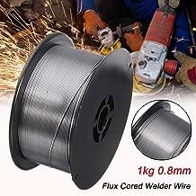 Fil fourr/é de soudure en aluminium /à basse temp/érature baguettes de soudure faciles en aluminium fourr/ées par flux super fondu sans poudre de soudure 10PCS, 1.6mm