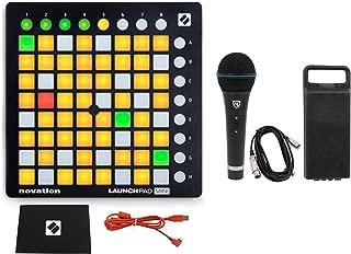 Novation LAUNCHPAD MINI MK2 MKII USB MIDI DJ Controller 64-Pad+Mic+Cable+Case