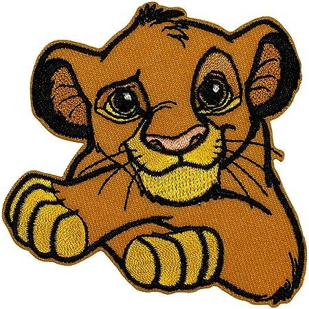 Disney lion king fabric applique iron on kovu simba 12.5 inch