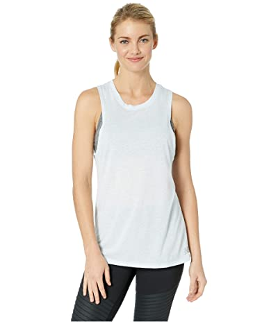 New Balance Heathertech Train Tank Top (Air Heather) Women