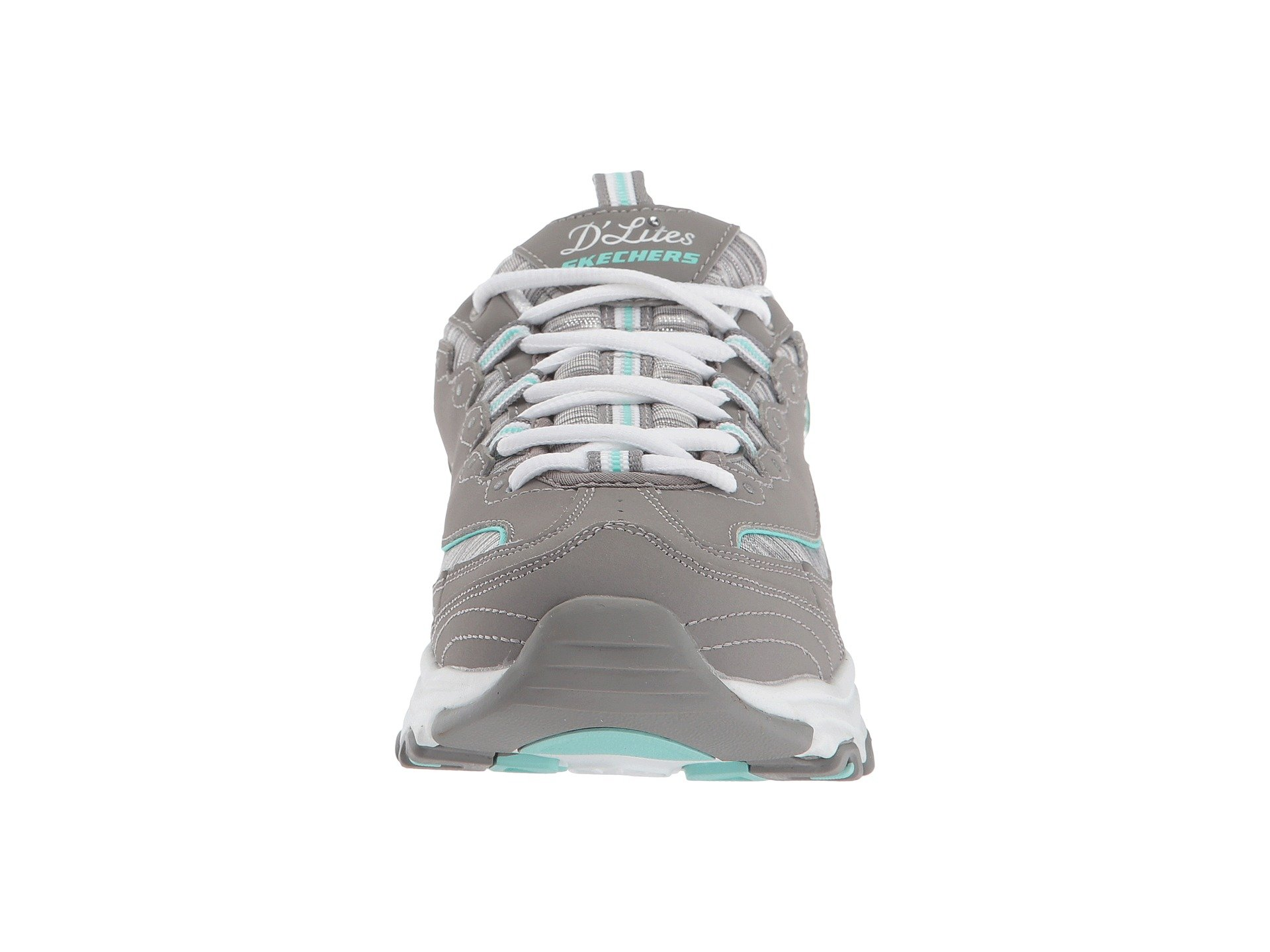 Mint Skechers Gray Mint Interlude Gray D'lites D'lites Skechers Interlude nn8AFZwvx