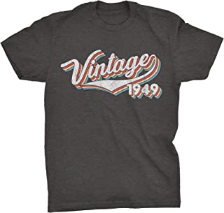 70th Birthday Gift T-Shirt - Retro Birthday 1949 Vintage