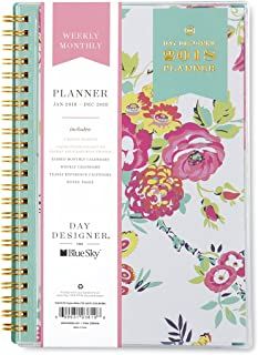 Day Designer for Blue Sky 2018 Weekly & Monthly Planner, Twin-Wire Binding, 5