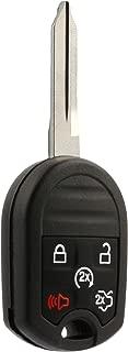 Car Key Fob Keyless Entry Remote Start fits Ford, Lincoln, Mercury, Mazda (CWTWB1U793 5-btn) - Guaranteed to Program