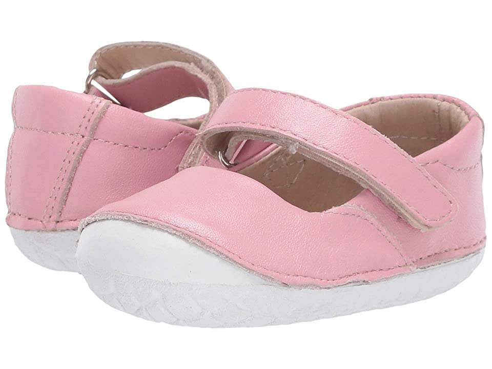 Old Soles Pave Jane (Infant/Toddler) (Pearlised Pink) Girls Shoes