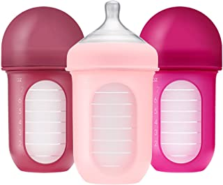 Boon Nursh Bottle Set of 3 Pieces, 8 oz, for Pink/Multi - Pack of 1