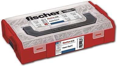 fischer - Koffer FPFII FIXTAINER, assortiment houtschroeven, assortimentsdoos met 700 stuks.