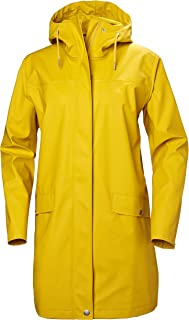 Helly Hansen Moss Long Hooded Fully Waterproof Windproof Raincoat Jacket