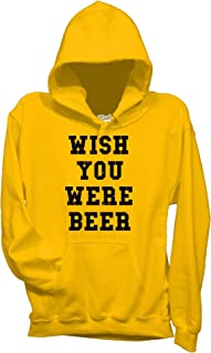 2024abcefca9c6 MUSH Felpa Wish You Were Beer - Birra by Dress Your Style
