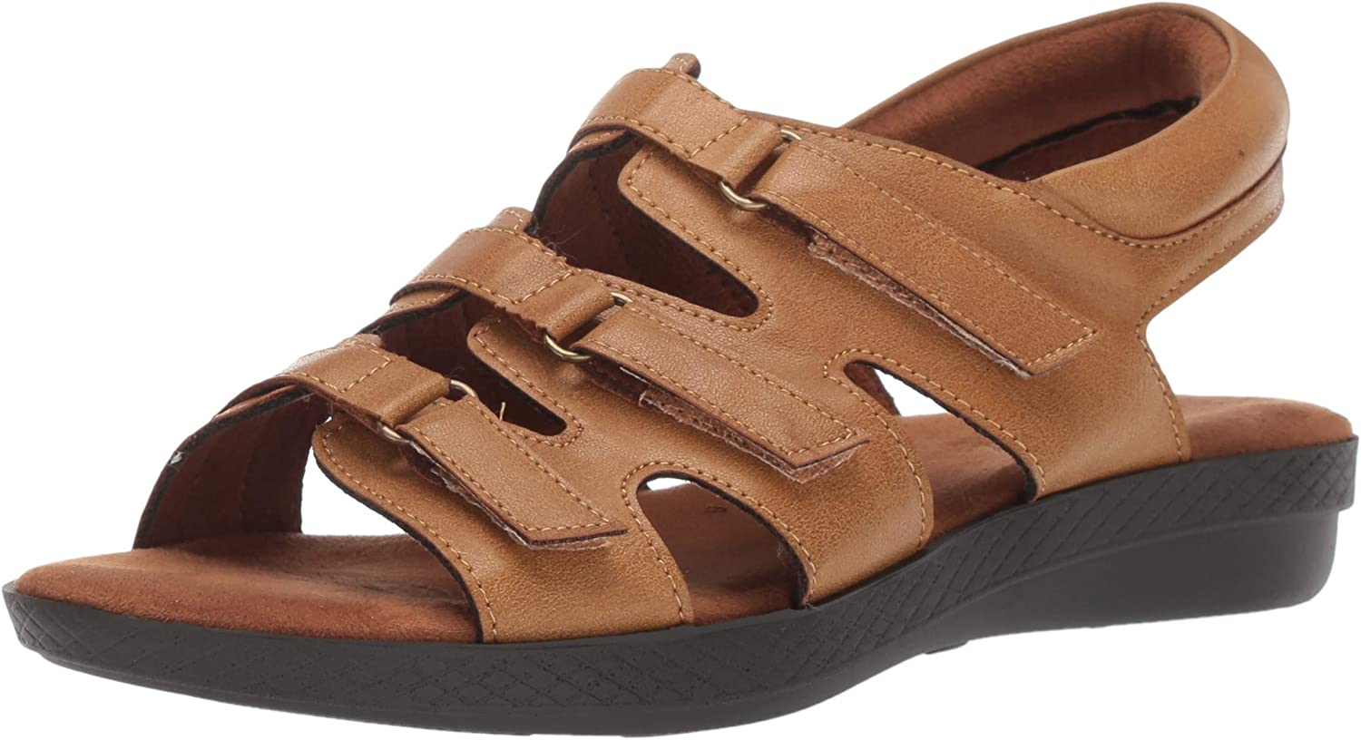 Easy Street Women's Rae Casual Sandal Loop and Hook Safety trust Closure with Sale special price