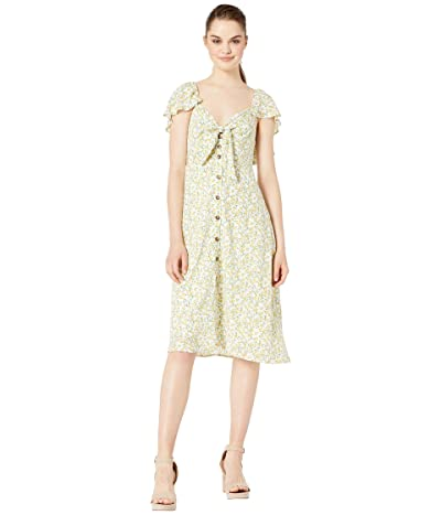 ASTR the Label Rachelle Dress (Lemon Drop) Women