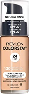 Revlon ColorStay Liquid Foundation For Normal/dry Skin, SPF 20, Porcelain, 1 Fl Oz