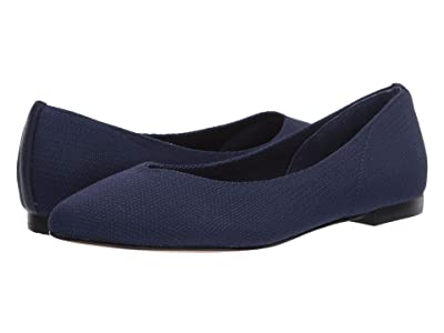 CC Corso Como Julia Knit Flat (Navy) Women