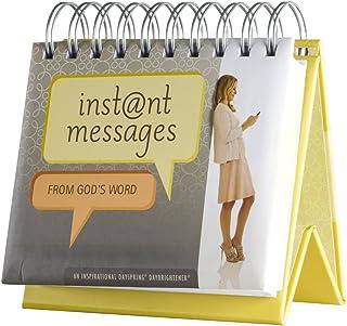 DaySpring Instant Messages from God, DayBrightener Perpetual Flip Calendar, 366 Days of Inspiration (80296)