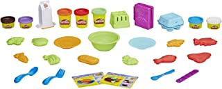 Play-Doh E1936 Kitchen Creations Grocery Goodies Play Food Set with 7 Non-Toxic Colors