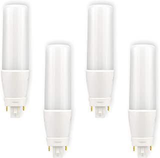 POPP® Bombillas E27 LED Edison PLC G24 12W Equivalente a 100W Incandescente 270° 1000Lm SMD Luz 4000K Neutros 6000 Fria (4000K, Pack 4)