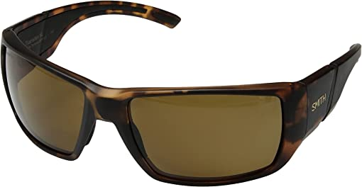 Matte Tortoise/Brown ChromaPop™ Polarized Lens
