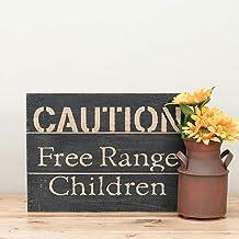 Foreside FWAD04178 Free Range Children Wall Art