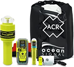 acr ResQLink View & ResQFlare Survival Kit (2361) - Personal Locator Beacon & USCG Approved Replacement for Pyrotechnic Fl...