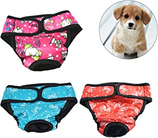 Bragas Menstrual perro ueetek Braguitas pañal sanitario
