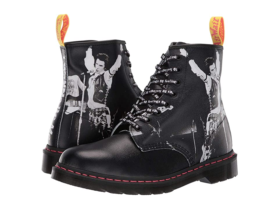 Dr. Martens - Dr. Martens 1460 Sex Pistols Collab  (Black Backhand Straw Grain Leather)