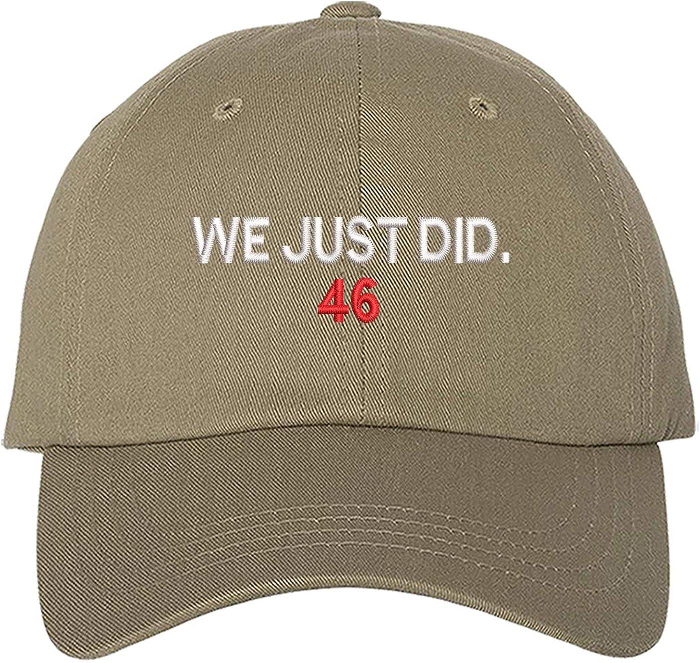 Khaki//Navy Biden President Election 2020 Harris Cap We Just Did 46 Hat