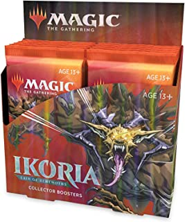 Magic: The Gathering Ikoria: Lair of Behemoths Collector Booster Box   Special Collector Cards