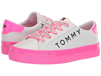 Tommy Hilfiger Foxton 2 (White Multi Texture) Women