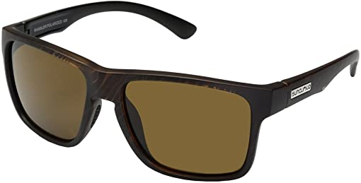 Blackened Tortoise/Polarized Brown Polycarbonate Lens