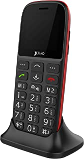 Jethro [SC318] 3G Unlocked Senior & Kids Cell Phone, FCC/IC Certified, SOS Emergency Button, 1.77